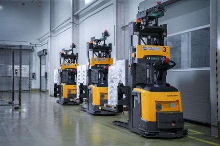 Одна из самых сложных автоматизированных систем Jungheinrich в Европе: завод Сыры Кубани