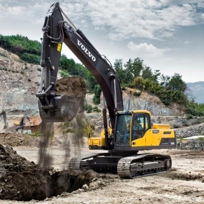 Экскаваторы Volvo серии D: высокая мощность и производительность