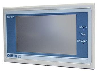 Компания ОВЕН объявила о начале продаж панельных контроллеров ОВЕН СПК105