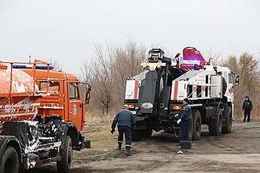Грузовой эвакуатор «Чайка-Сервис» на службе МЧС и спасательных служб России!