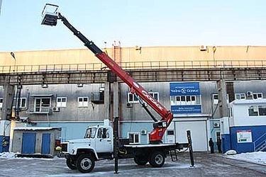 28 метров на базе ГАЗ-33086 «Земляк»