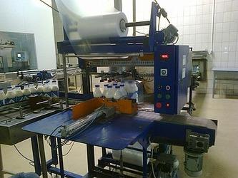 Модернизация автомата групповой упаковки на Барнаульском молочном комбинате