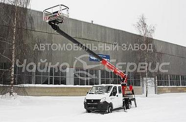 Автогидроподъёмник Чайка-Socage Т318 на базе ГАЗель NEXT
