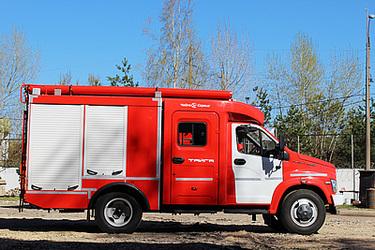 Первая пожарная автоцистерна на базе ГАЗон NEXT на выставке «КОМПЛЕКСНАЯ БЕЗОПАСНОСТЬ-2016»