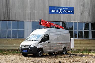 Автогидроподъёмник Чайка-Socage 12VT на базе цельнометаллической ГАЗель NEXT