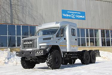 Двухрядная кабина «Тайга» на базе шасси УРАЛ NEXT (6x6)