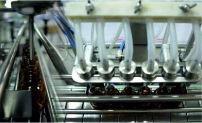 Комплект полуавтоматического оборудования для спиртосодержащих жидкостей
