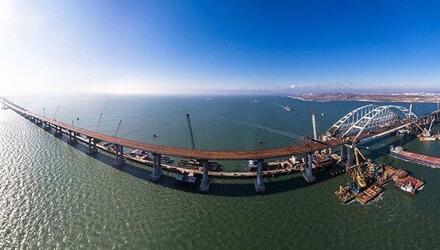 Открыто движение по Крымскому мосту
