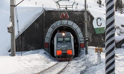 В России завершается строительство второго Байкальского тоннеля