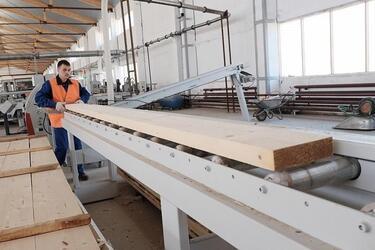 В Кировской области запущено новое производство домов из клееного бруса