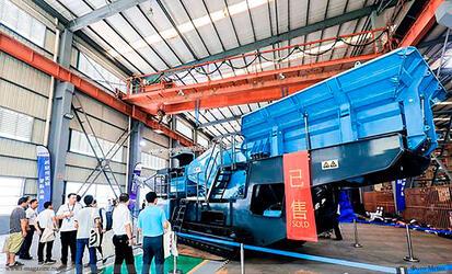 Китайская дочерняя компания Metso показала новую линейку дробильно-сортировочного оборудования