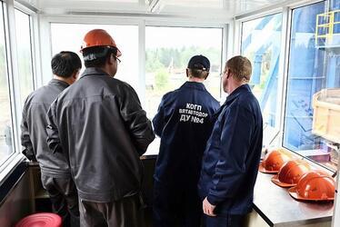 В Кировской области запущен самый мощный асфальтобетонный завод