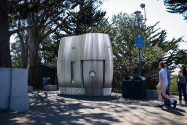 В США представили новый высокотехнологичный туалет