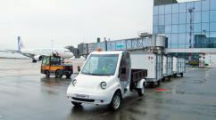 Крымский грузовой электрокар прошел испытания в аэропорту Симферополь