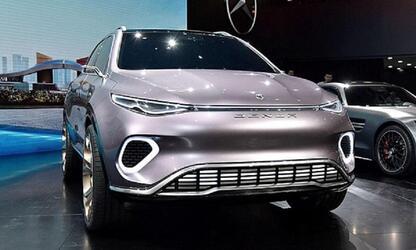 Компания Mercedes-Benz представила электрический кроссовер Denza X