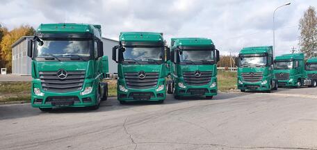 52 тягача Mercedes-Benz российской сборки для компании «ИТЕКО»