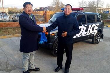 Полиция Монголии пересела на Lada 4x4