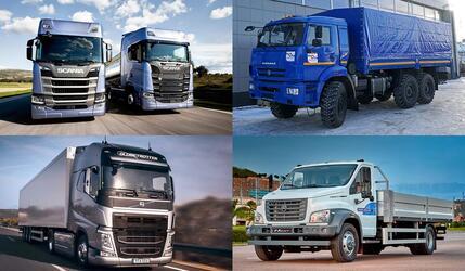Рынок новых грузовых автомобилей в октябре вырос на 5%