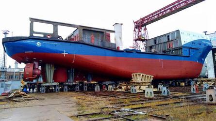 ЯСЗ продолжает серию морских буксиров проекта 23470