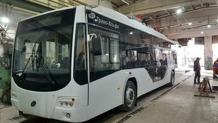 «Крымтроллейбус» начал получать новые троллейбусы марки «Транс — Электро» с автономным ходом