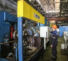 Завод «Ижсталь» завершил капитальный ремонт линии отделки сортового проката