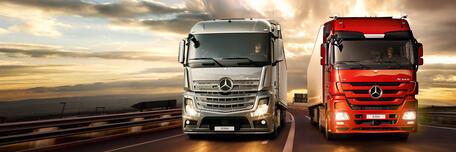 Эксперты МАДИ оценили топливную эффективность грузовиков Mercedes-Benz