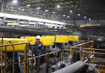 На обогатительной фабрике Гайского ГОКа в Оренбургской области запущена новая флотомашина