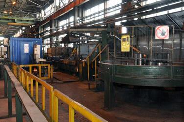 ЧерМК готовит к запуску агрегат продольной резки