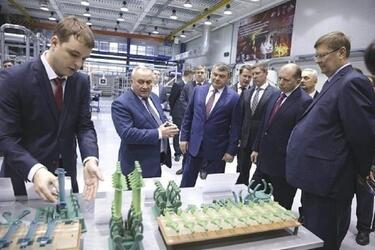Крупнейшее производство лопаток газотурбинных двигателей начинает работать в Рыбинске