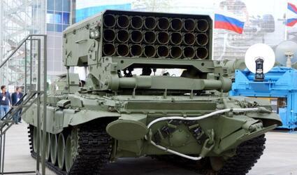 Первая партия новейших тяжелых огнеметных систем ТОС-2 поступит в войска к Дню Победы