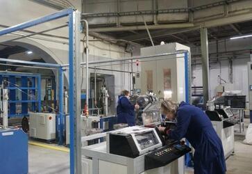 Парк оборудования завода «Электрокабель» пополнился шестью оплеточными машинами
