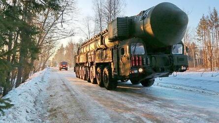 На боевое дежурство заступил первый полк ПГРК «Ярс» в Алтайском крае