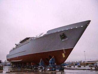 Новейший корабль противоминной обороны из стеклопластика готов к испытаниям