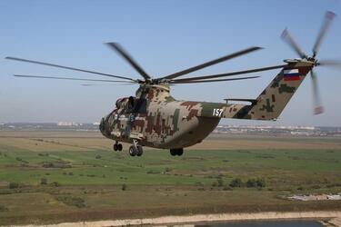 Начались государственные совместные испытания вертолета Ми-26Т2 В