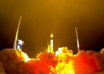 Ракета-носитель Рокот вывела на орбиту 3 спутника связи Гонец-М и военный спутник