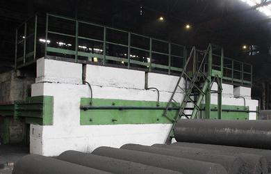 Новую печь графитации электродов запустили на Новочеркасском электродном заводе
