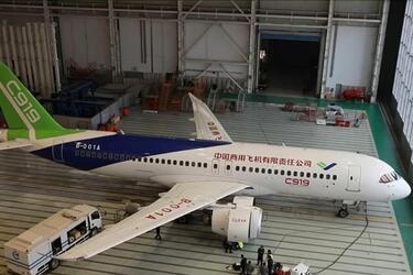 Шестой прототип китайского самолета C919 совершил первый полет
