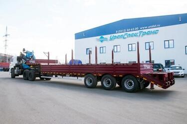 Завод спецтехники с Урала освоил производство новых прицепов и полуприцепов