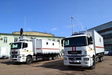 Мытищинский приборостроительный завод изготовил модули управления на шасси КАМАЗ для МЧС г. Москвы