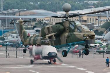 Создан новый пилотажный комплекс для боевых вертолетов Ми-28НМ