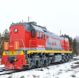 Пять новых тепловозов поступили на Калининградскую железную дорогу
