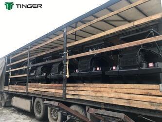 Компания Тингер отправила в Европу очередную партию техники