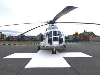 В Белгородскую область поступил вертолет санавиации Ми-8 АМТ
