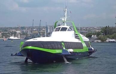 Феодосийский завод «Море» начал строительство двух скоростных «Комет» для пассажирских перевозок