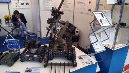 ЦНИИ «Робототехники и технической кибернетики» начал поставки спецслужбам робота сапера «Капитан»