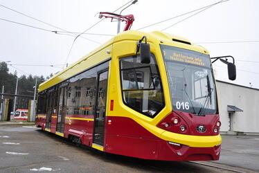 В Латвию поставлены 8 трамваев модели Сity Star «Тверского вагоностроительного завода»