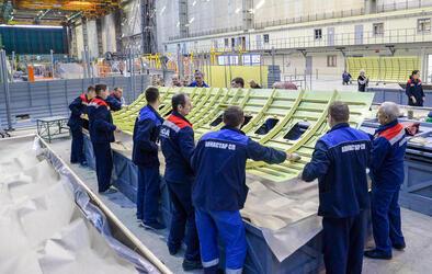 «Авиастар-СП» изготовил и отправил на завод «Сокол» партию агрегатов для второго Ил-114-300