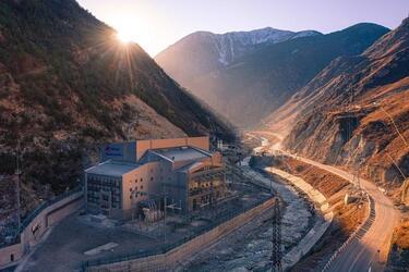 «РусГидро» ввела в эксплуатацию в Северной Осетии Зарамагскую ГЭС-1 мощностью 346 МВт