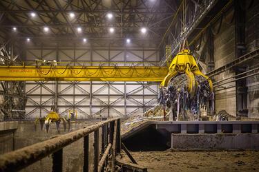 16 кранов Konecranes будут поставлены для работы  на мусоросжигательных заводах в Подмосковье