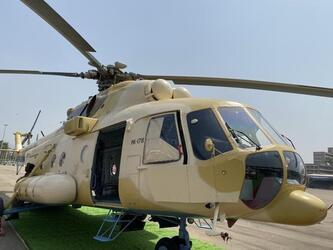 Нигерия получила первый модернизированный вертолет Ми-171Е